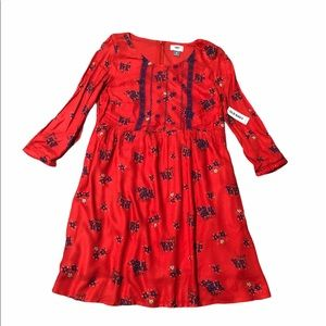 NWT Red Coral Dress